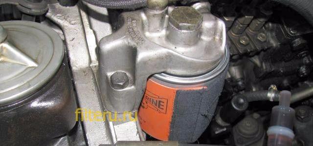 Как работает подогрев топливного фильтра
