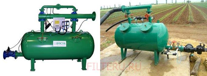Нужен ли на участке сложный гравийный фильтр для полива