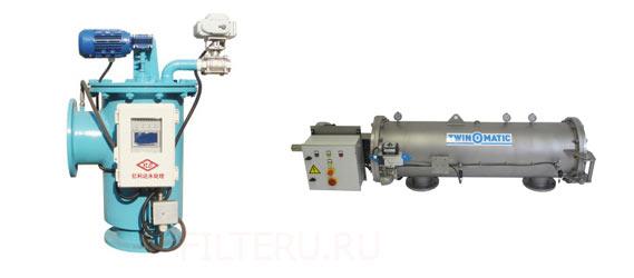 Виды самопромывных фильтров для воды
