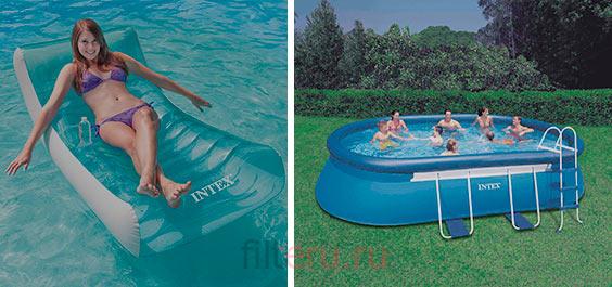 Как выбрать фильтр для надувного бассейна