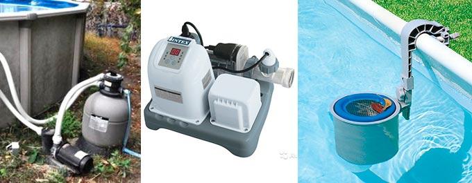 Виды фильтров для бассейнов