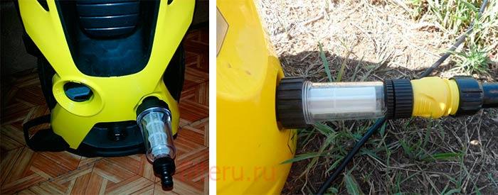 Дополнительный фильтр тонкой очистки воды для минимойки Кархер