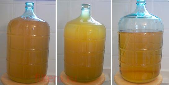 Фильтрация вина желатином