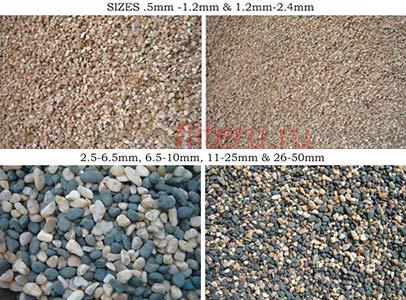 Какие есть виды кварцевого песка для фильтра бассейна