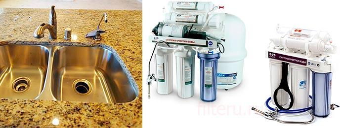 Стационарные фильтры для воды активного действия