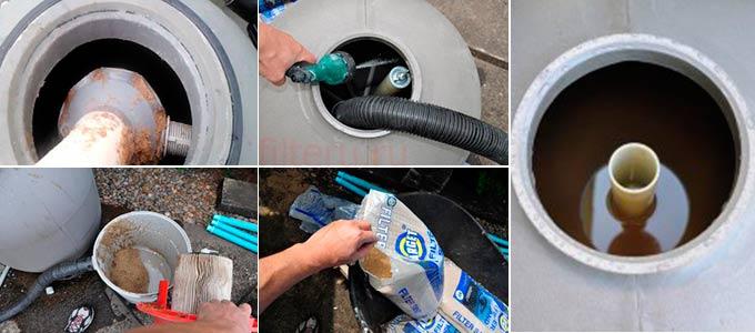 Какой вид песка лучше использовать в фильтре для бассейна