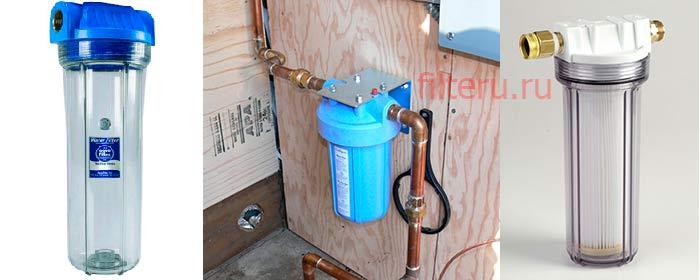 Фильтрация воды в частном коттедже