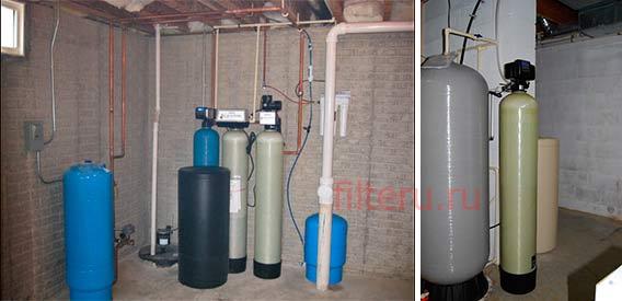 Какие фильтры используют в загородных домах