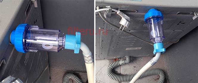 Для чего ставить полифосфатный фильтр для стиральной машинки