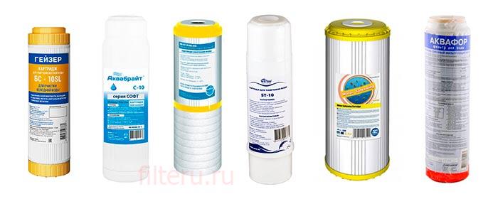 Ионобменные фильтры для умягчения воды
