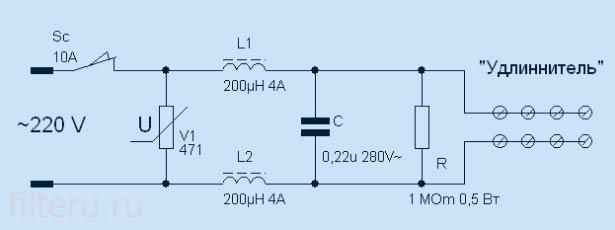 2 модификация ls фильтра