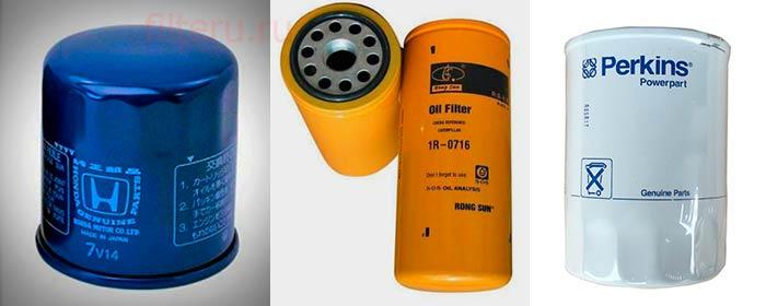 Масляный фильтр для электрогенератора