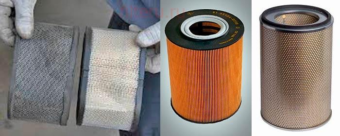 Воздушный фильтр для электрогенератора
