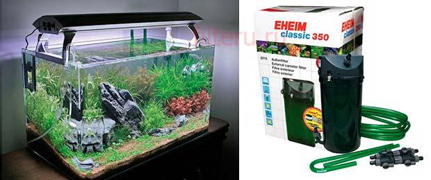 Что смотреть при выборе внешнего фильтра аквариума