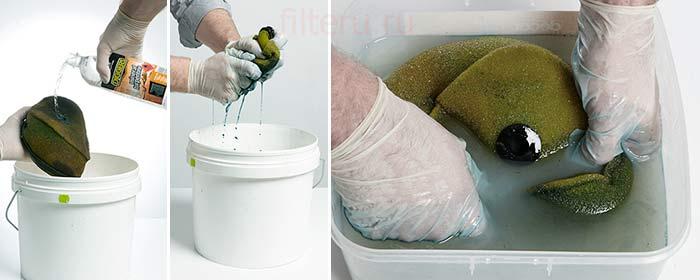 Как промыть воздушный фильтр
