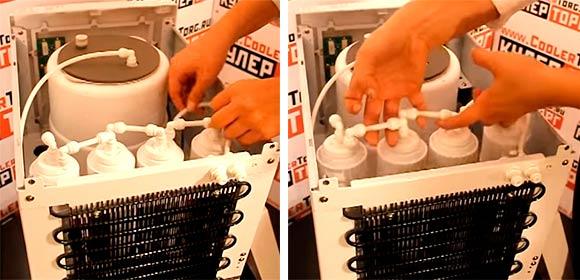 Как менять фильтры в пурифайере