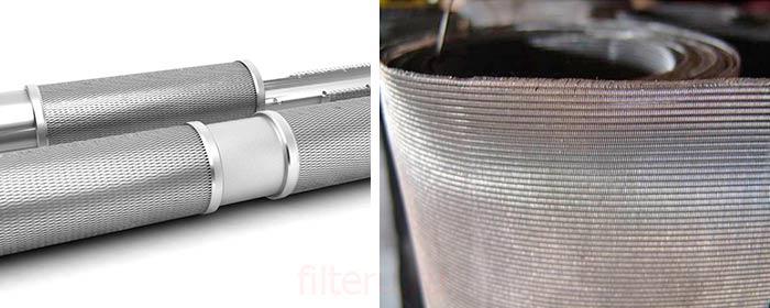 Сетчатый фильтр в скважину