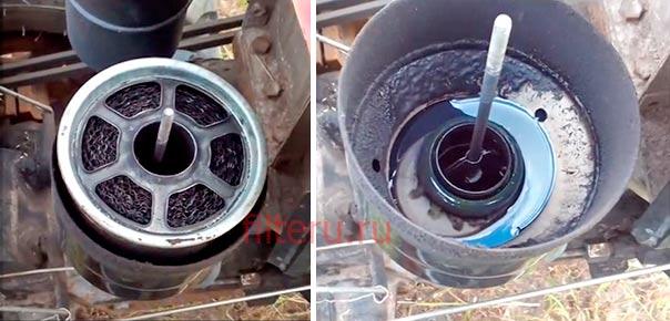 Как почистить воздушный фильтр в мотоблоке