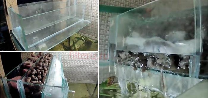 Самодельный биофильтр для аквариума
