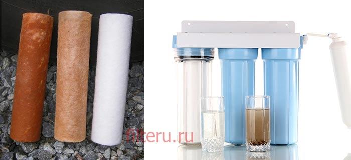 Магистральный фильтр для воды в квартиру