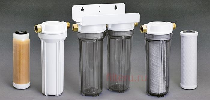 Какой выбрать проточный фильтр для квартиры