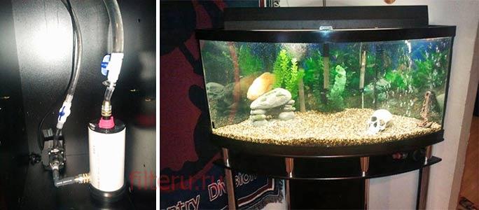 Готовый вариант фильтра в аквариум своими руками