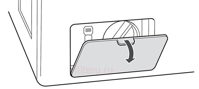 Как почистить сливной фильтр стиральной машинки
