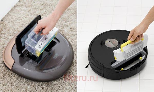 Как заменить hepa фильтр в робот-пылесосе