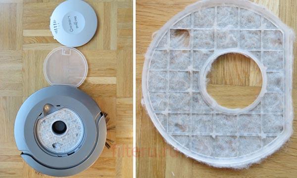 Модернизация фильтра для робота-пылесоса