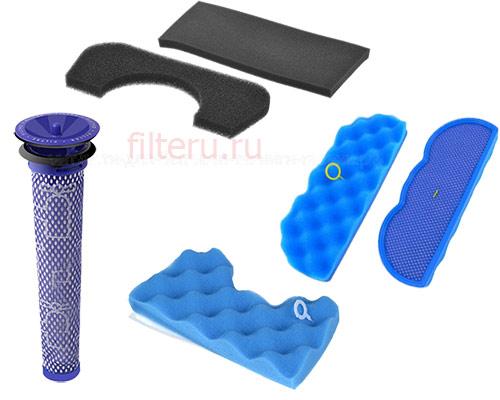 Фильтры для пылесоса поролоновые